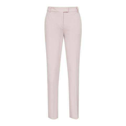 Reiss Cream Joanne Casual Trousers