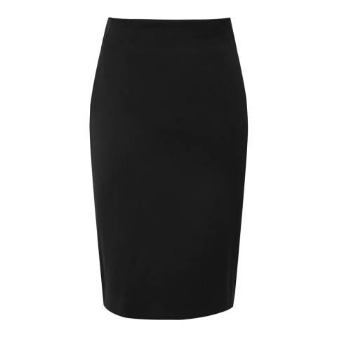 Reiss Black Harper Tailored Skirt