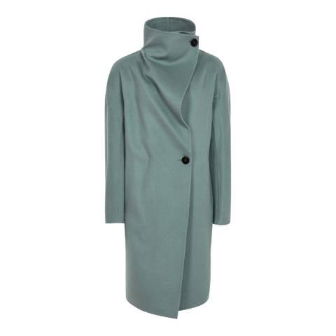Reiss Green Antonia Coat