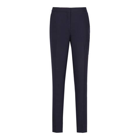 Reiss Navy Faulkner Tailored Trousers