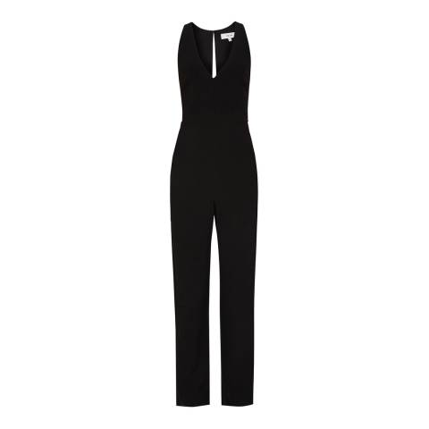 Reiss Black Naddia Jumpsuit