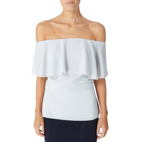 Reiss Pale Blue Balmer Top
