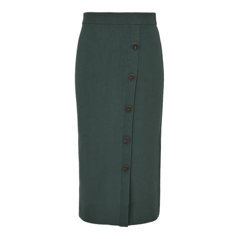 Reiss Ivy Hatty Button Knit Skirt