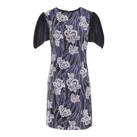 Reiss Multi Estelle Embroidered Dress