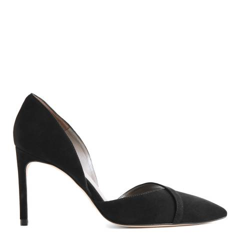 Reiss Black Georgia Court Heel