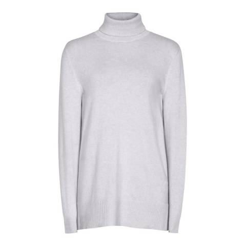 Reiss Pale Blue Ina Wool/Cashmere Jumper