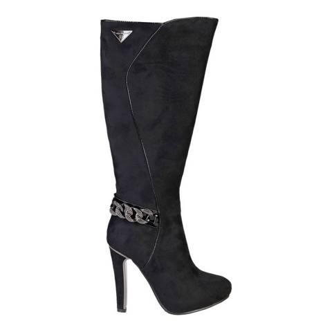 Laura Biagiotti Black Stiletto Heel Boot