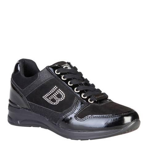 Laura Biagiotti Black Studded Sneaker