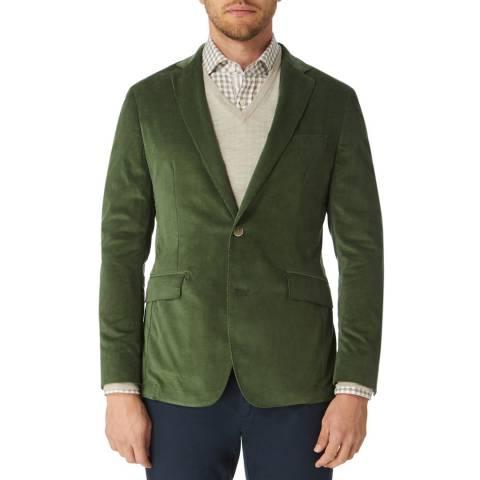 Hackett London Green Stretch Cord Jacket