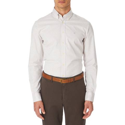 Hackett London Multi Tattershall Check Twill Shirt