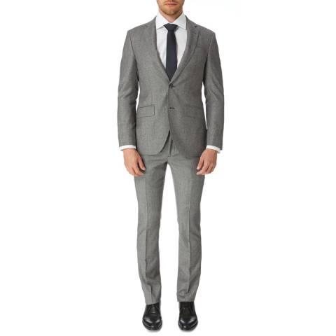 Hackett London Multi Puppytooth Tailored Wool Suit