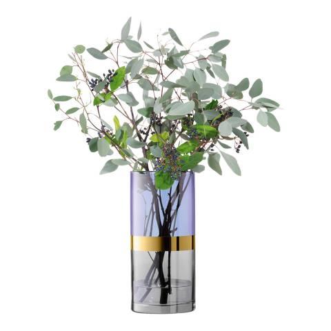 LSA Blueberry Bangle Vase, 30cm