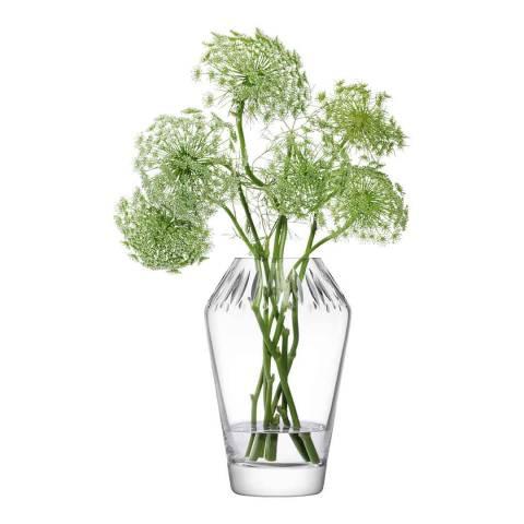 LSA Clear Frieze Vase, 24.5cm