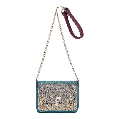 Fiorelli Blue Metallic Nighttails Shoulder Bag