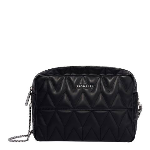 Fiorelli Black Quilt Lola Shoulder Bag