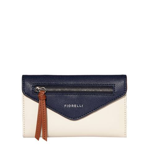 Fiorelli Navy White Nicholl Purse