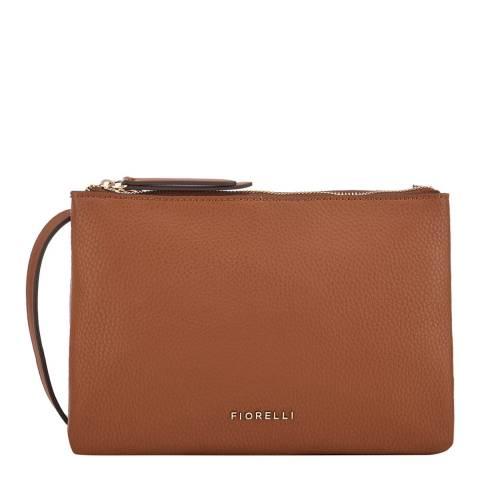 Fiorelli Tan Bunton Crossbody Bag
