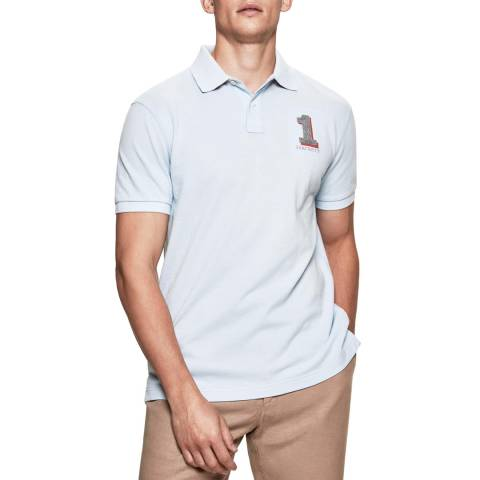 Hackett London Light Blue New Classic Polo Shirt