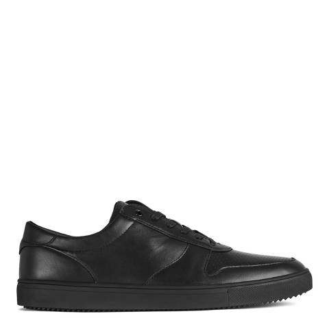 Reiss Black Gregory Clae Trainers