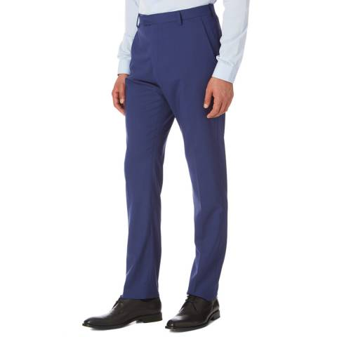 Reiss Navy George Mixer Trousers