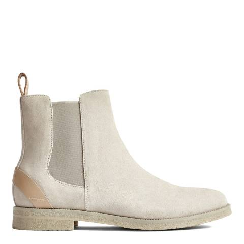Reiss Bone Rogers Suede Chelsea Boots