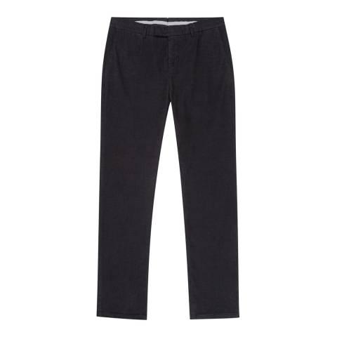Reiss Navy Nevis Corduroy Trousers