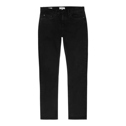 Reiss Black Sherrif Tapered Jeans