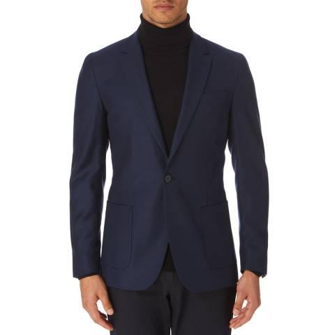 Reiss Blue Chump Classic Suit Jacket