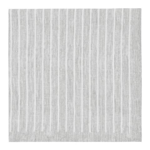 Reiss Linen Stripe Road Handkerchief
