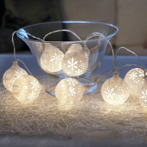 Christmas Magic Flaky Light Chain 135cm