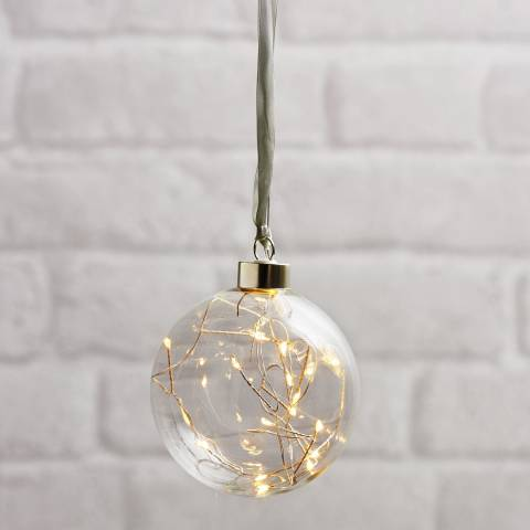 Christmas Magic Glass Bauble Glow