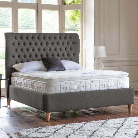 Gallery Felicity Bedstead 135cm, Shearwater, Charcoal