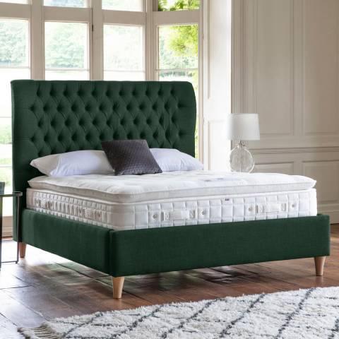 Gallery Felicity Bedstead 150cm, Longbridge, Dark Green