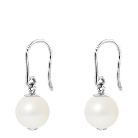 Manufacture Royale White Pearl Drop Earrings