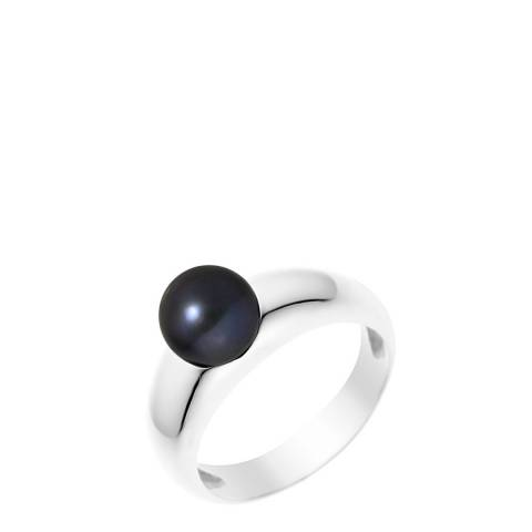 Manufacture Royale Black Pearl Ring 7-8mm