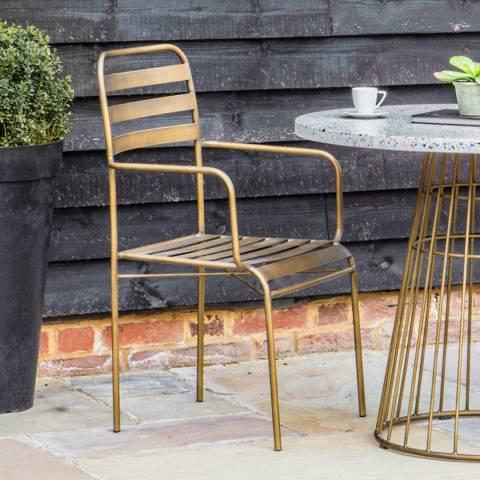 Gallery Set of 2 Osmond Retro Arm Chairs