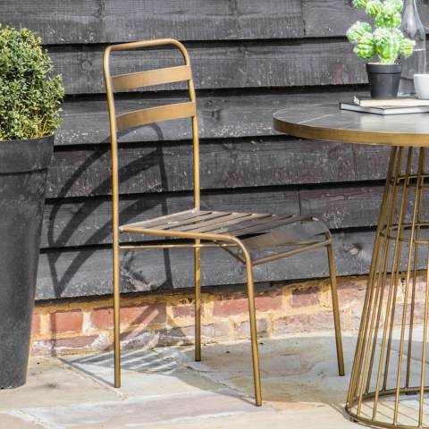 Gallery Set of 2 Osmond Retro Side Chairs