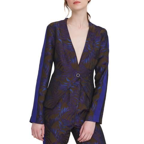 Outline Blue/Black The Maygrove Jacket