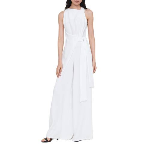 Outline White The Pine Jumpsuit