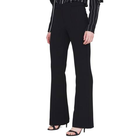 Outline Black Fitted Regent Trouser