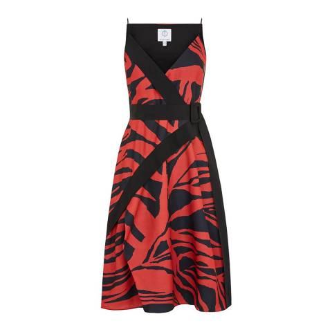 Outline Red/Black The Fraser Dress