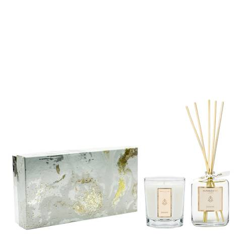 Bahoma Jasmine 100ml diffuser & large candle