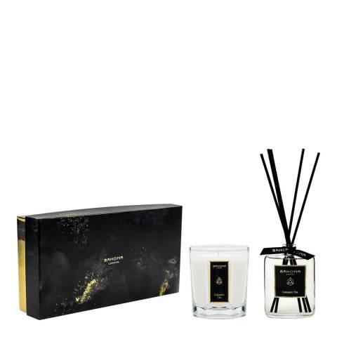 Bahoma Caramel Tea 100ml diffuser & large candle