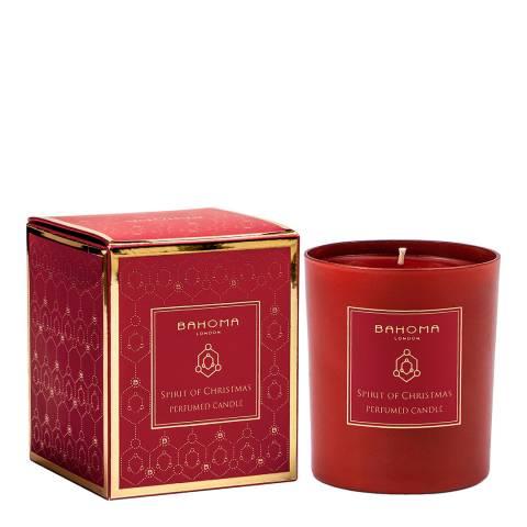 Bahoma Spirit of Christmas Candle