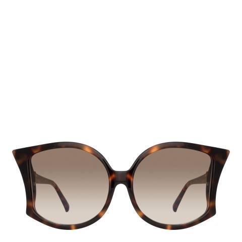 Linda Farrow Tortoiseshell Lerreta Sunglasses