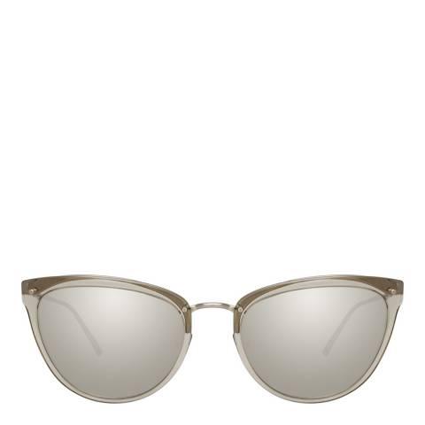 Linda Farrow Truffle Eva Cat Eye Sunglasses