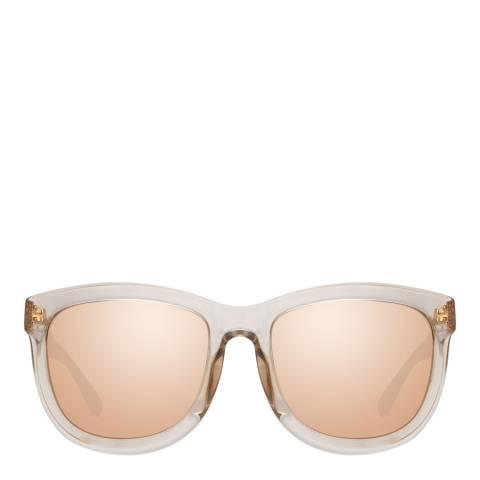 Linda Farrow Rose Gold Bella D-Frame Sunglasses