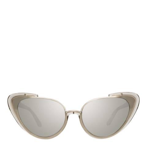 Linda Farrow Truffle Khira Cat Eye Sunglasses