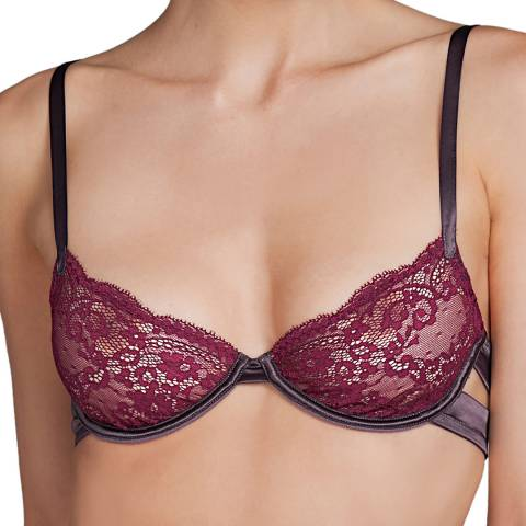 Andres Sarda Red Gstaad Underwired Bra