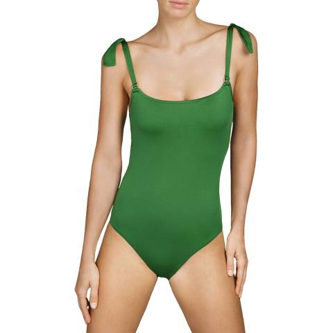 Andres Sarda Green Tanager Swimsuit padded